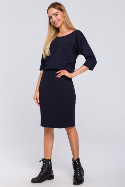 CM4850 Sukienka z kieszenią...