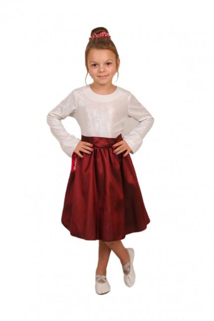MA122 Elegancka sukienka tafta