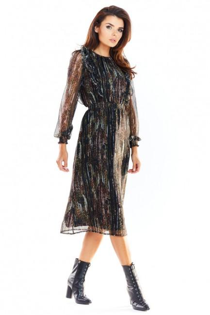 CM4872 Sukienka z falbanami...