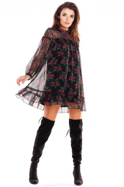 CM4877 Zwiewna sukienka...