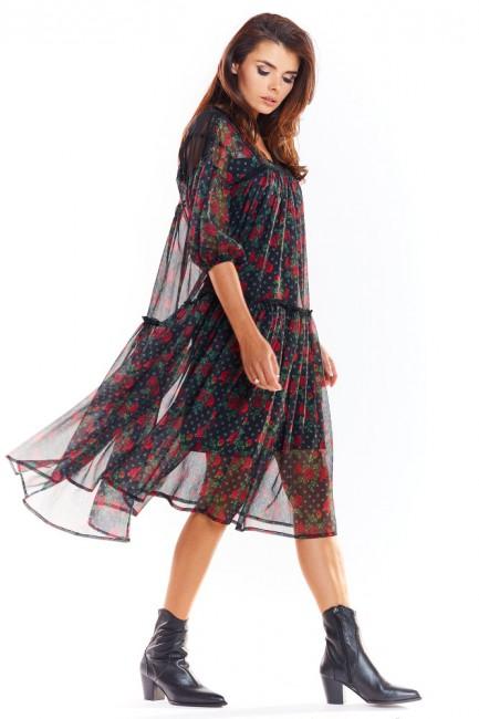 CM4888 Zwiewna sukienka...