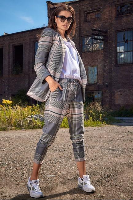 CM4894 Elastyczne spodnie w...