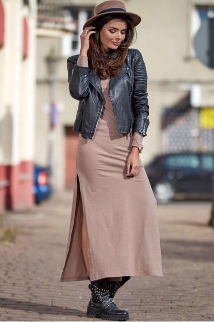 CM4912 Kobieca sukienka z...