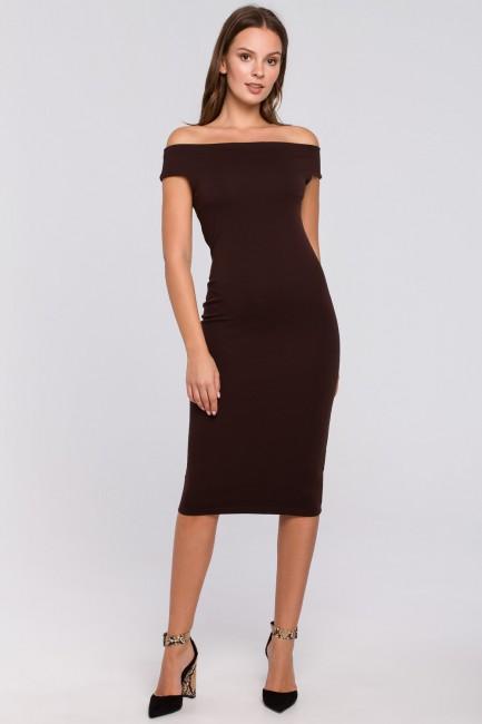 CM4940 Dzianinowa sukienka...