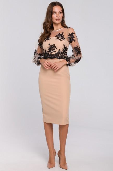 CM4952 Sukienka ołówkowa z...