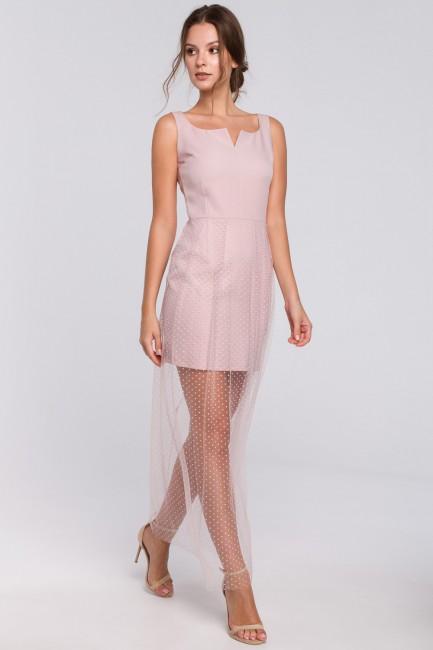 CM4970 Długa sukienka z...