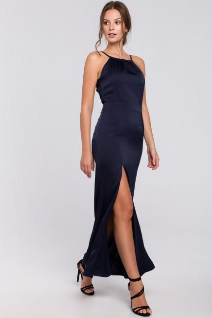 CM4981 Długa sukienka z...