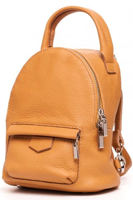 CM4982 Skórzany plecak - rudy