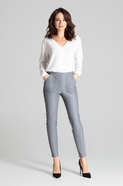 CM5023 Dopasowane spodnie z...
