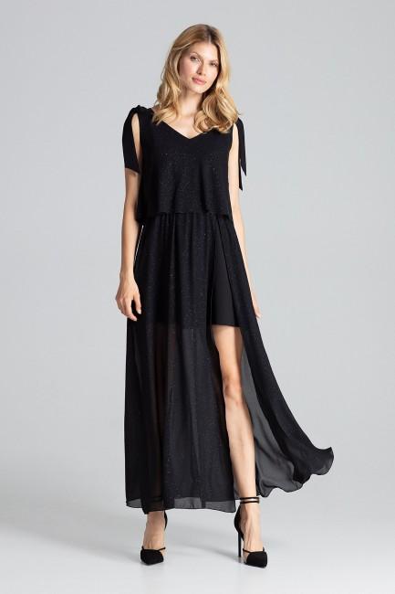 CM5037 Długa sukienka maxi...