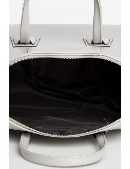Torebka typu kuferek do ręki - szara