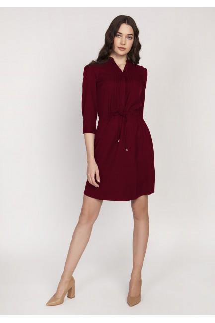 CM3652 Sukienka z delikatną...