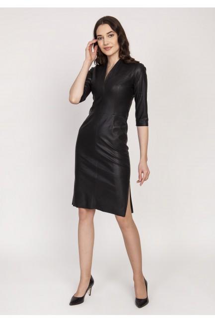 CM5118 Skórzana sukienka...
