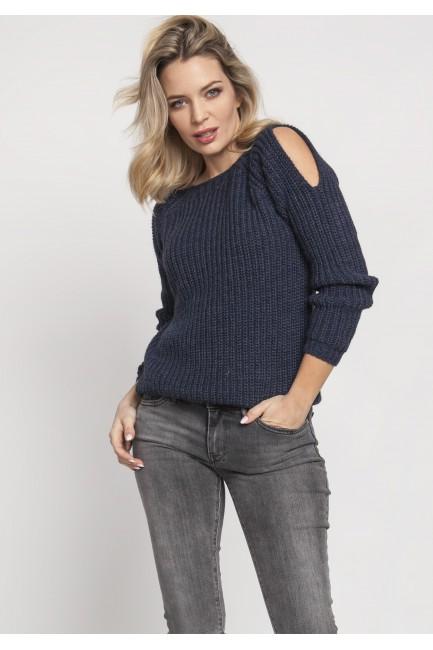 CM5122 Raglanowy sweter z...