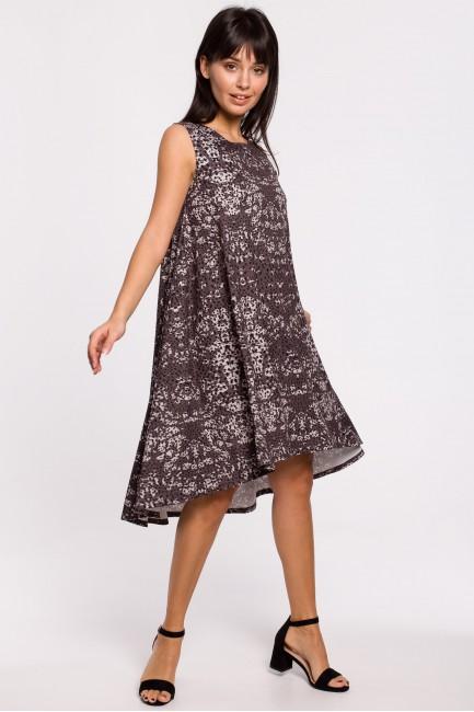 CM5140 Sukienka z nadrukiem...