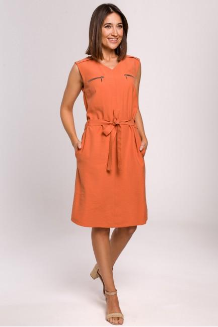 CM5169 Sukienka bez rękawów...
