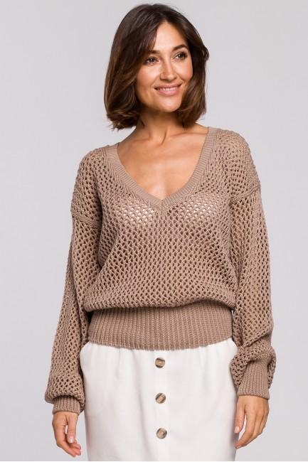 CM5178 Sweter z dużymi...