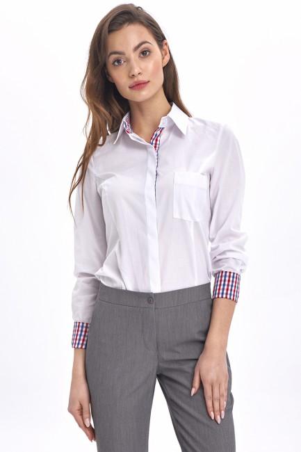 CM5185 Elegancka koszula z...