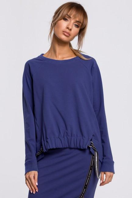 CM5199 Bluza z klamerkami i...