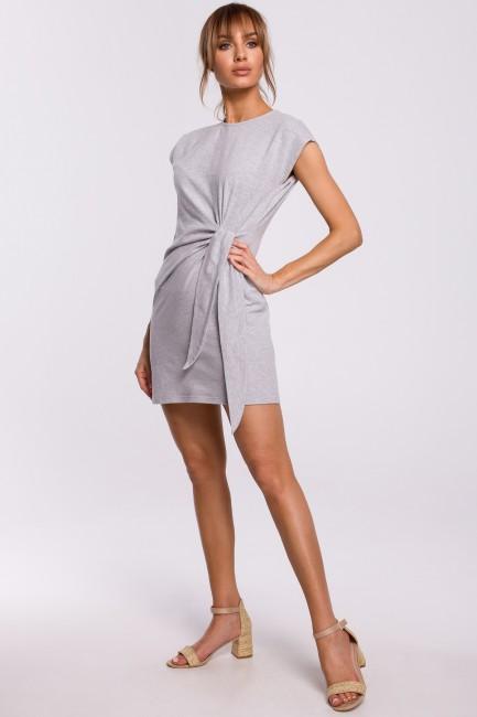 CM5215 Sukienka z supłem na...