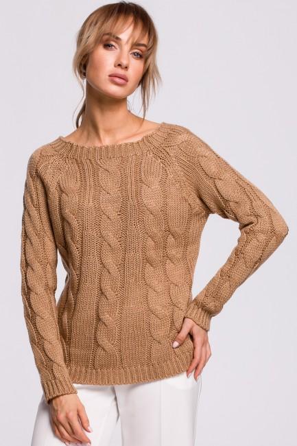CM5218 Sweter z splotem...