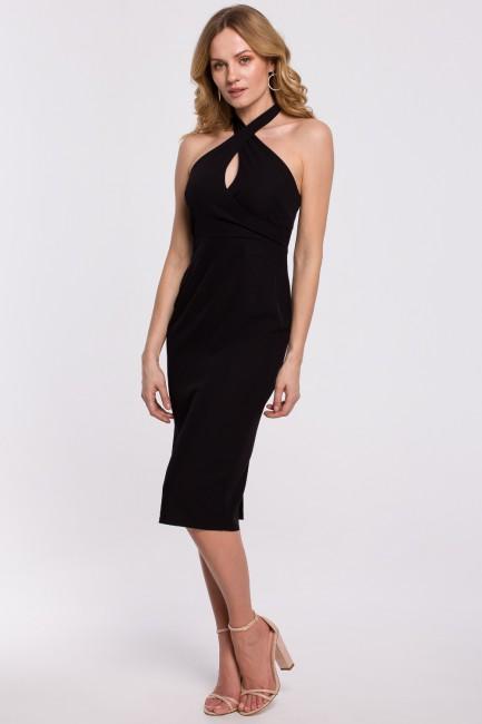 CM5233 Sukienka wiązana...