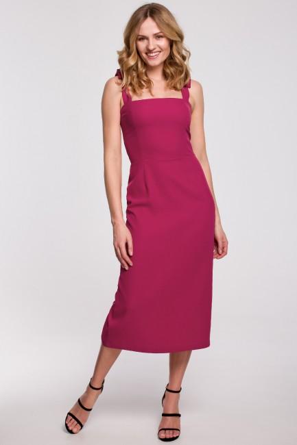 CM5236 Sukienka midi z...