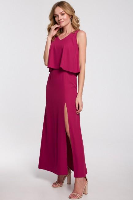 CM5238 Sukienka maxi z...