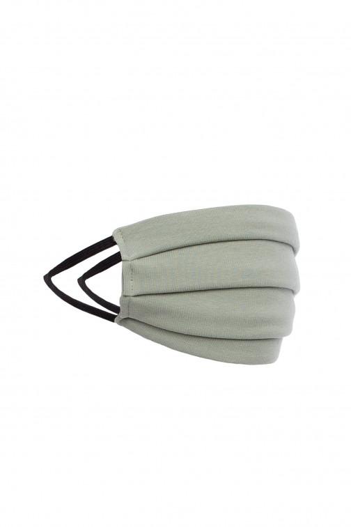 Bawełniana maseczka dwuwarstwowa - pistacjowa