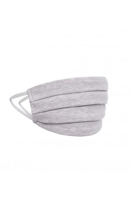 Bawełniana maseczka dwuwarstwowa - szara