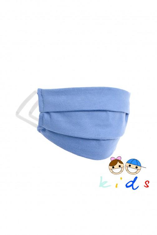 CM5264 Wielorazowa maseczka dziecięca - niebieska
