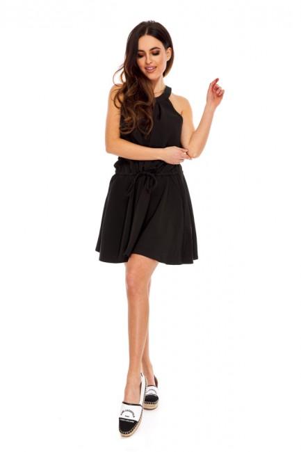 Kombinezon z krótkimi nogawkami - czarny