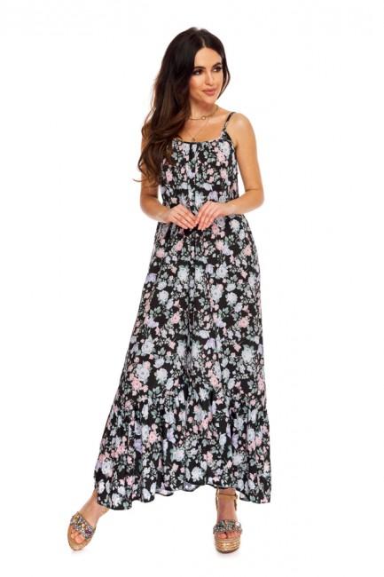 CM5271 Sukienka maxi z...