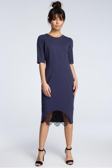 CM3615 Sukienka z wycięciem...