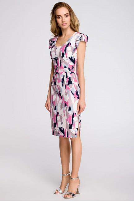CM3617 Ołówkowa sukienka z...