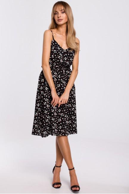 CM5309 Sukienka na cienkich...
