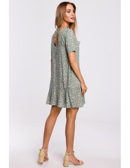 Sukienka z dekoltem na plecach - model 7