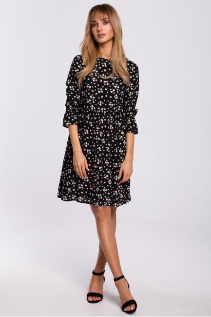 CM5312 Sukienka z krótkimi...