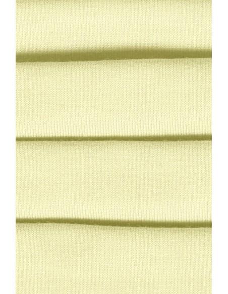 Bawełniana maseczka dwuwarstwowa - żółta