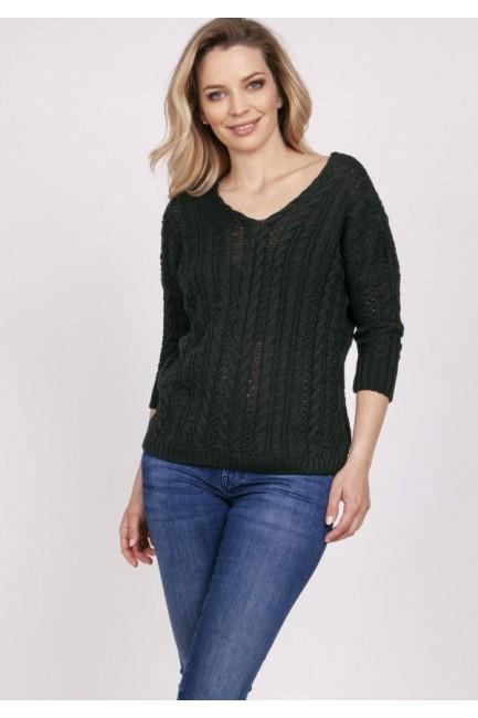 CM5314 Luźny sweter z...