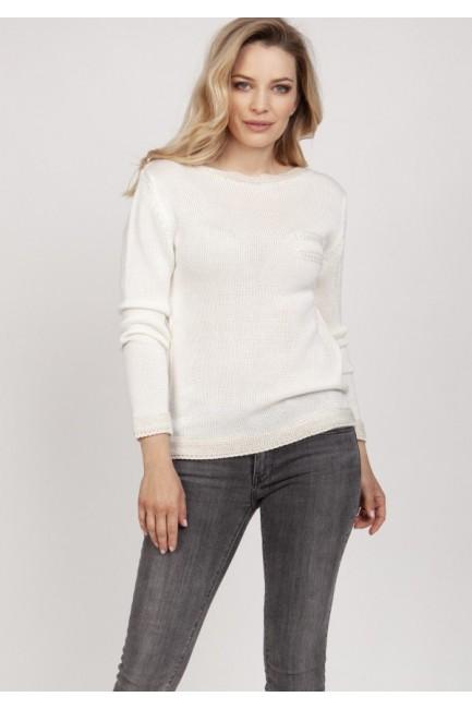 CM5315 Prosty sweterek z...