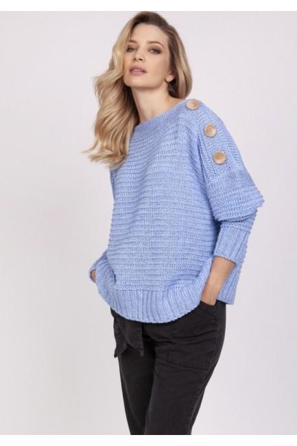CM5317 Żebrowany sweter z...
