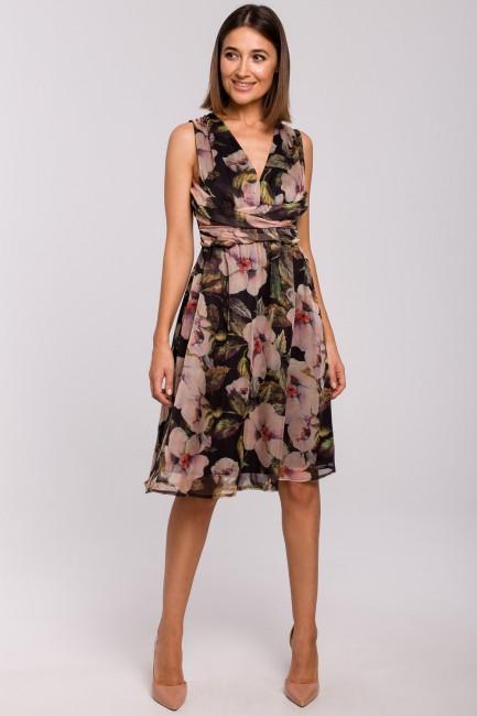CM5326 Szyfonowa sukienka...