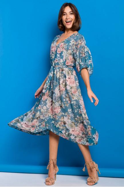 CM5327 Szyfonowa sukienka...