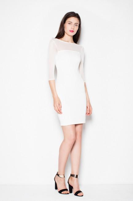 CM2986 Dopasowana sukienka...