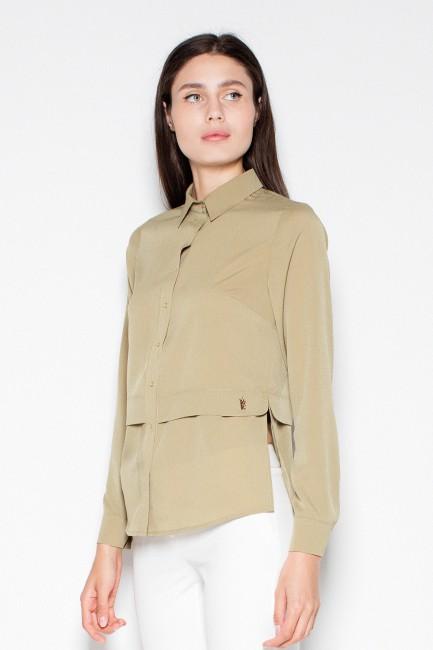 CM2937 Kobieca koszula z...