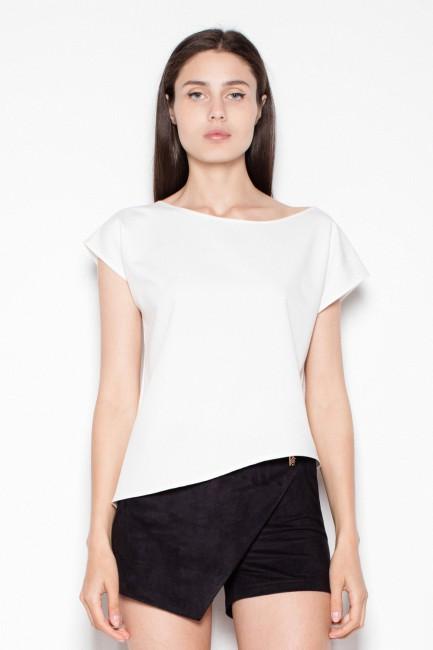 CM2918 Asymetryczna bluzka...