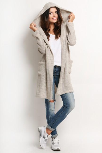 CM2022 Długi sweter płaszcz...