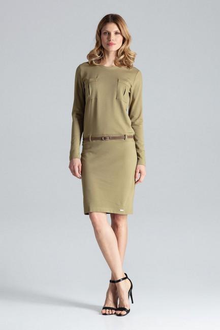 CM2102 Kobieca sukienka z...