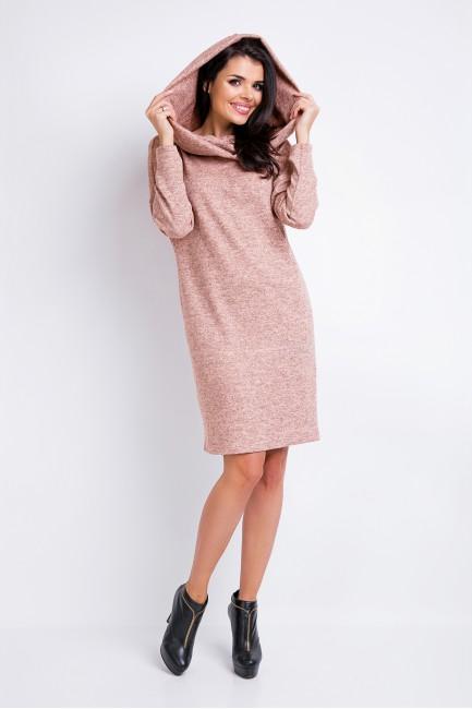 CM2822 Dzianinowa sukienka...